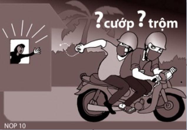 Xử phạt thế nào trong trường hợp cho người khác mượn xe đi cướp giật?