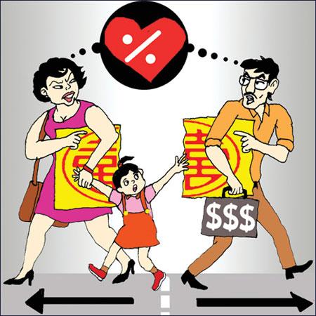 Trả nợ chung sau ly hôn
